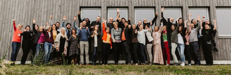 Das Team des Familienunternehmens All Organic Treasures. Foto: All Organic Treasures