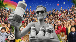 In all we do, let us be generous, fair & loving to Spaceship Earth and all its inhabitants - ALL-ONE. Foto: Dr. Bronner's